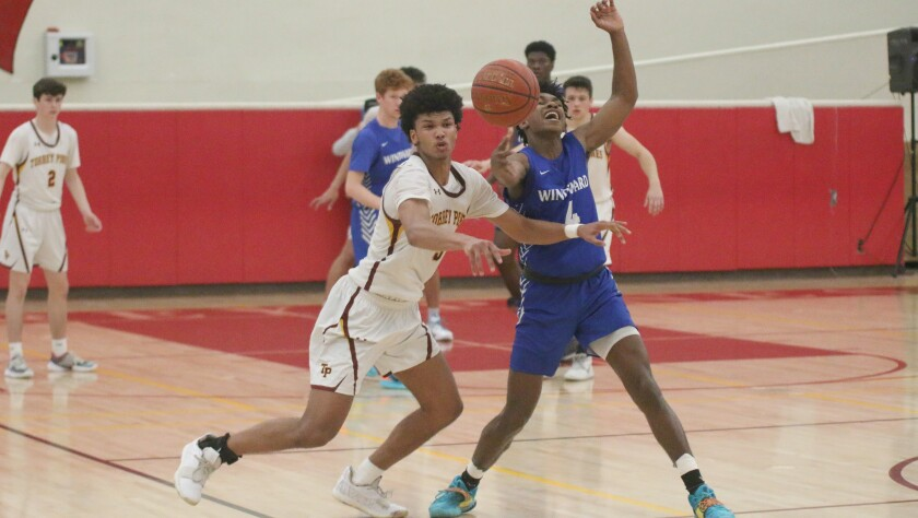 Junior Chris Howell steps in for a steal against Windward Thursday night.