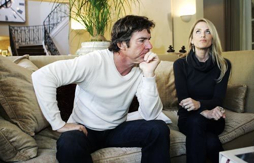 Actor Dennis Quaid and his wife, Kimberly, discuss their ordeal at Cedars-Sinai Medical Center, where their newborn twins were given an overdose of the blood thinner heparin in November.