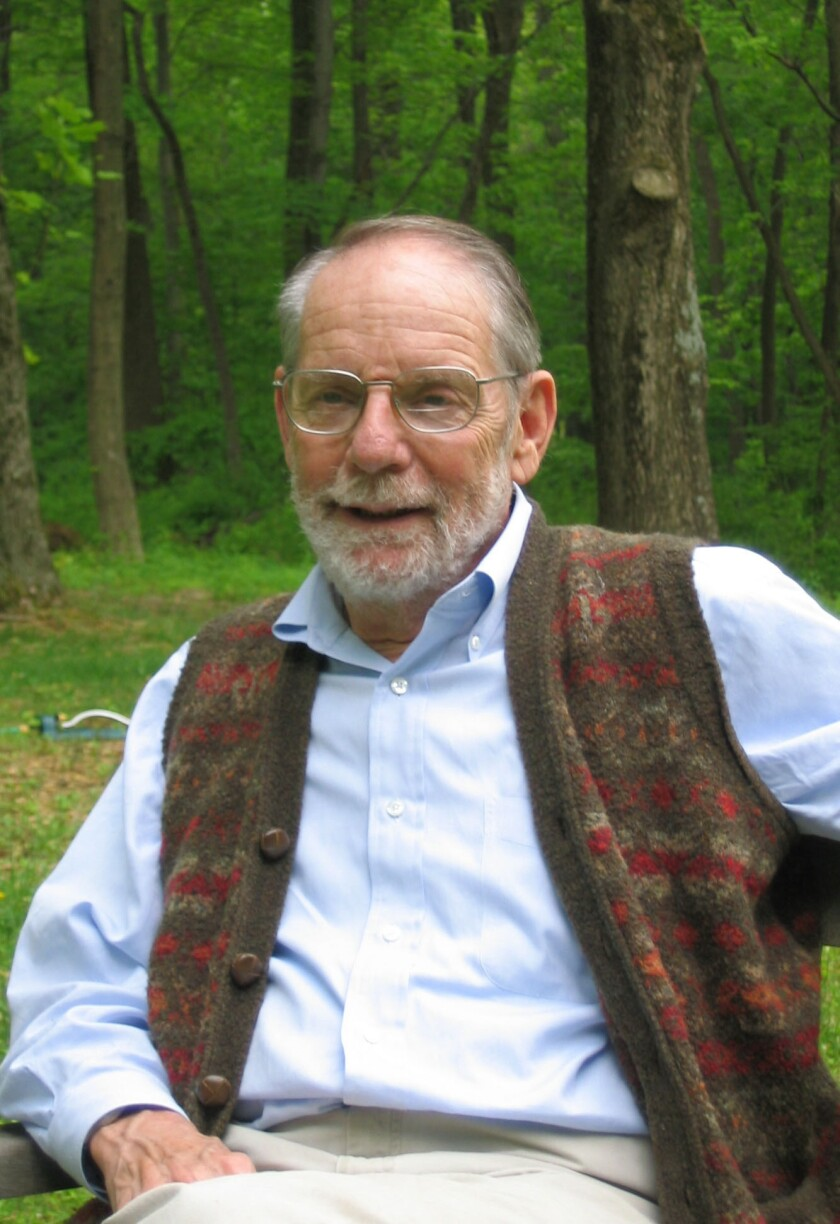 "An author photo of John McPhee for his book ""The Patch."" Credit: Yolanda Whitman"