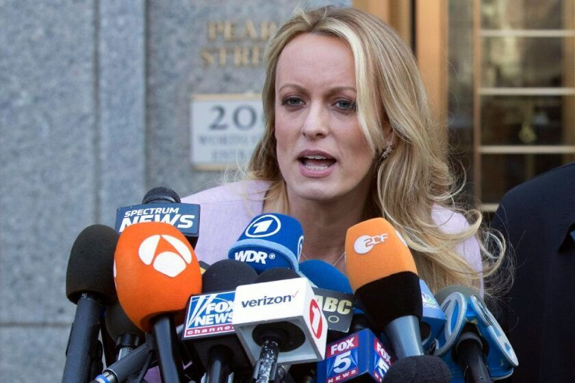 """Adult film actress Stormy Daniels will release tell-all memoir titled """"Full Disclosure"""" in October."""