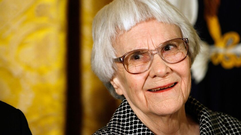 (FILE) Author Harper Lee Reportedly Dies At 89 Bush Awards Presidential Medal of Freedom