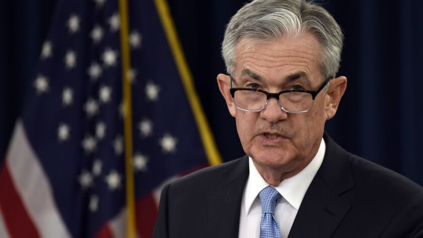 Federal Reserve Chairman Jerome Powell has said repeatedly that he'll ignore pressure from President Trump.