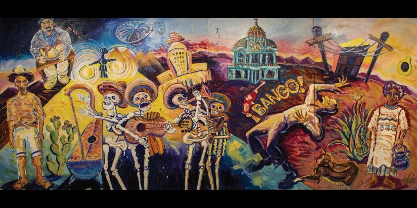 """¡Méjico, Mexico!"" by Frank Romero"