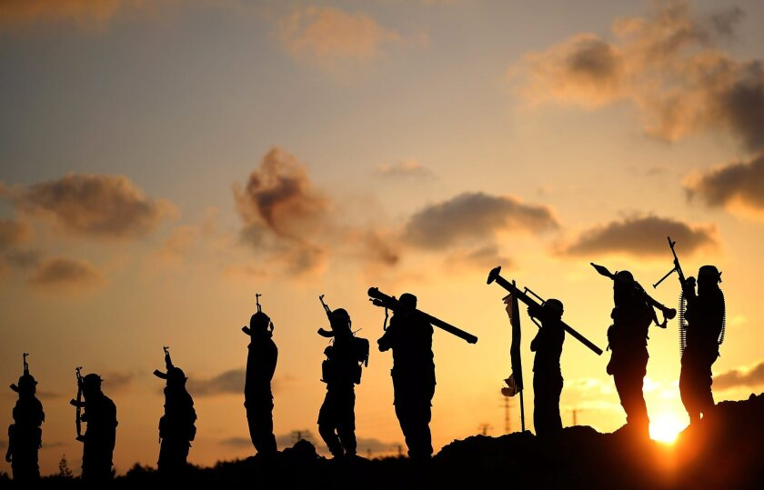 Gaza military exercise