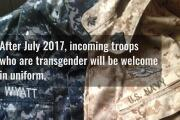 Transgender corpsman part of new military frontier