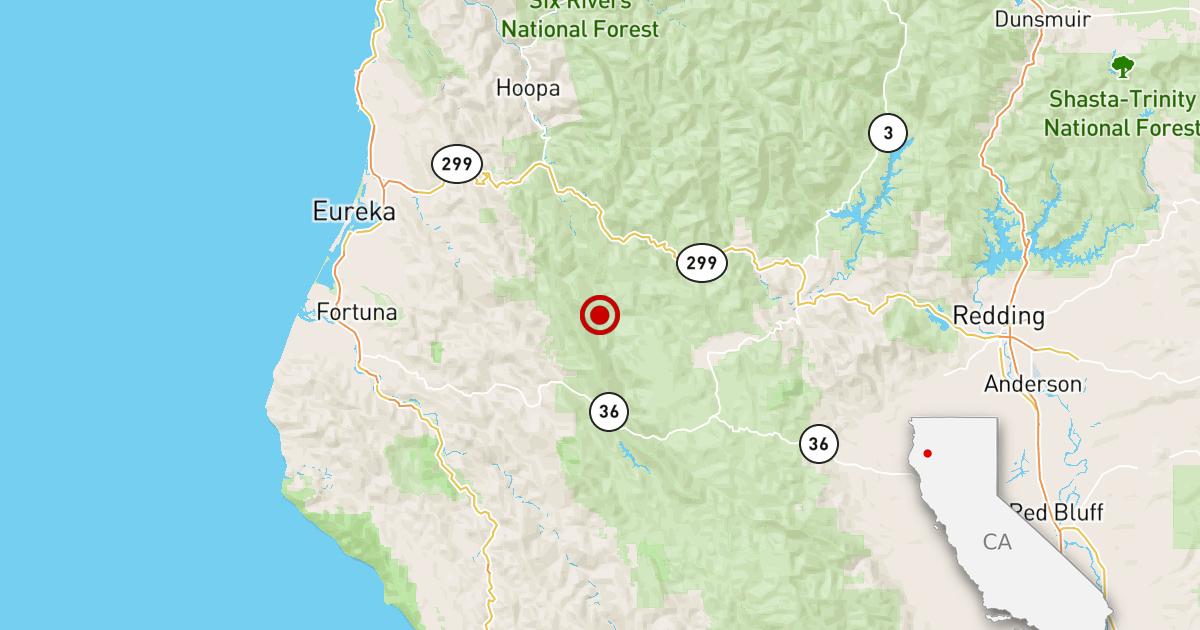 Erdbeben: 3.1 Beben in der Nähe von Arcata, Kalifornien.