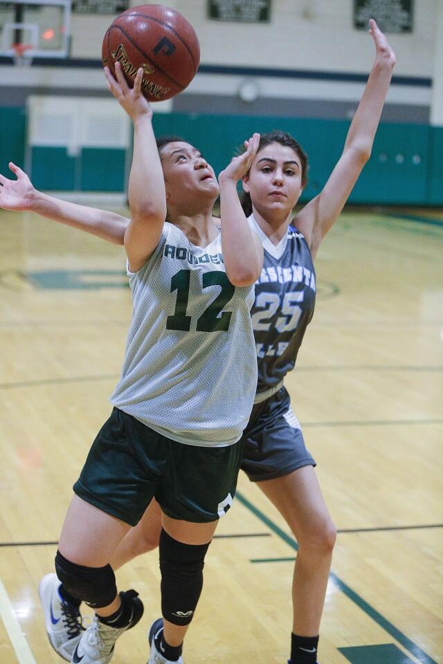 Photo Gallery: Providence vs. Crescenta Valley summer league girls' basketball