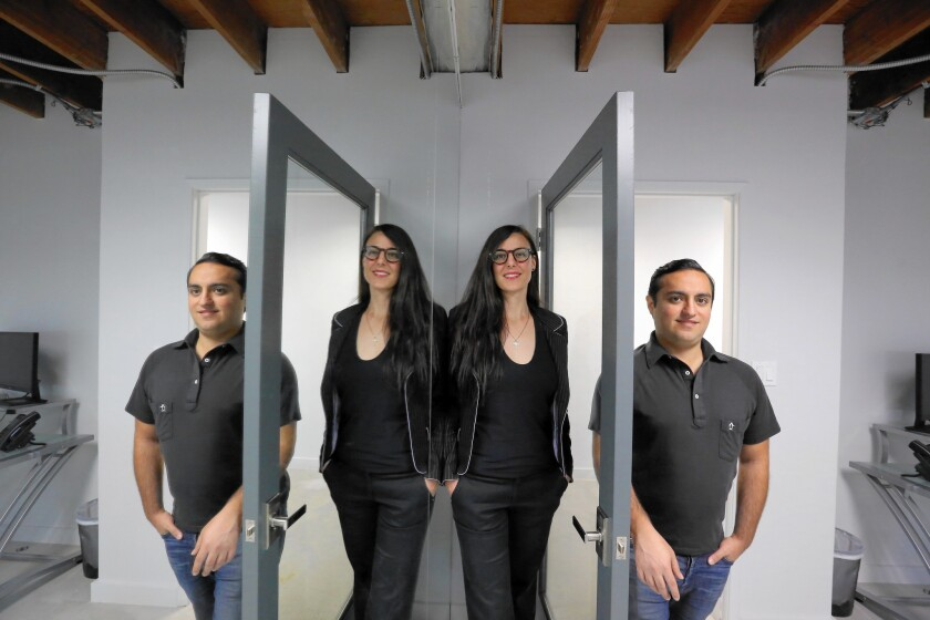 Block26, co-founded by Pedram Hasid and Ni'coel Stark, is investing in companies pursuing applications based on blockchain, the system behind bitcoin.