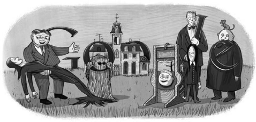 Charles Addams | Jan. 7