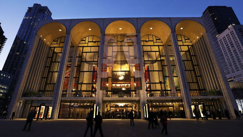 NEW YORK, NEW YORK--FEB. 22, 2018--In the vicinity of Carnegie Hall you can visit Lincoln Center, wh