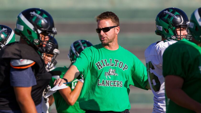 First-year Hilltop coach Drew Westling said balancing family time with the demands of coaching is crucial.