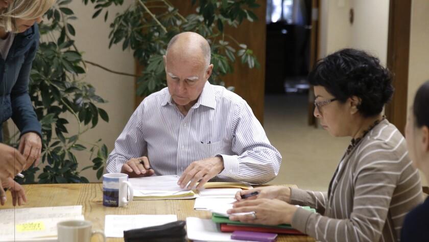 Gov. Jerry Brown signs bills