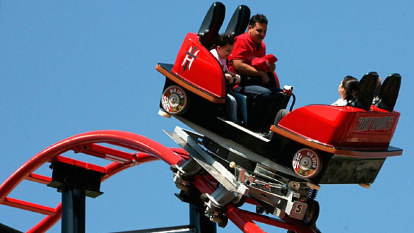 """Tony Hawk Big Spin coaster at Six Flags Discovery Kingdom will be called simply """"Big Spin."""""""