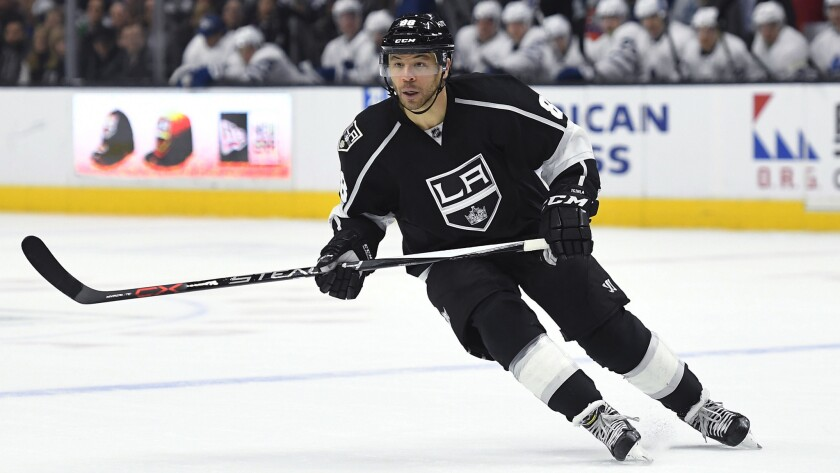 Jarome Iginla, who wrapped up his career with the Kings, leads the Hockey Hall of Fame class that was announced on Wednesday.