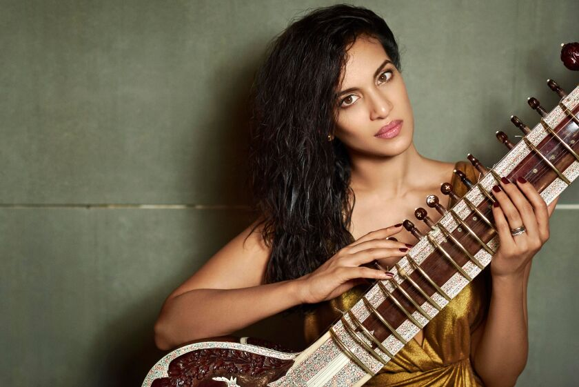 Now 37, Anouhska Shankar was just 17 when her debut album came out in 1997, when she was growing up in Encinitas. It was produced by her legendary father, Ravi Shankar.