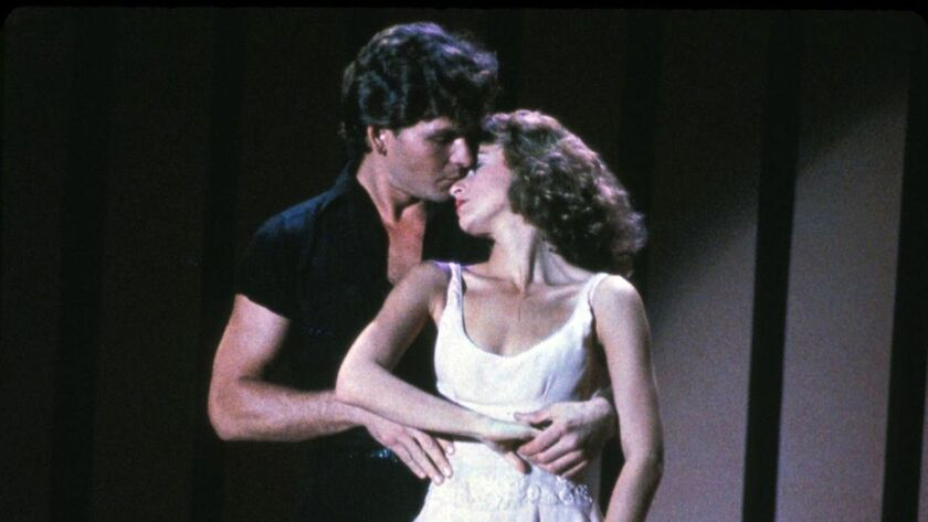 "Patrick Swayze and Jennifer Grey starred as Johnny Castle and Baby Houseman in the perennially popular movie ""Dirty Dancing."""