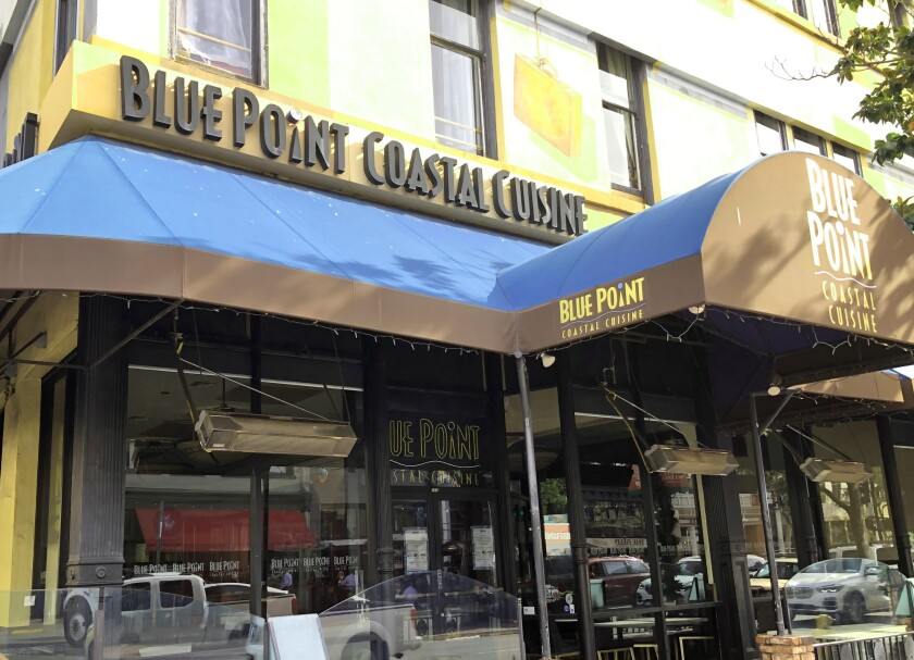 Blue Point Coastal Cuisine, a fixture in the Gaslamp for more than two decades, closed in November after the owner, Cohn Restaurant Group, was unable to reach an agreement with the landlord to renew the lease.