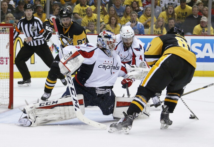 Penguins eliminate Capitals with 4-3 victory in overtime