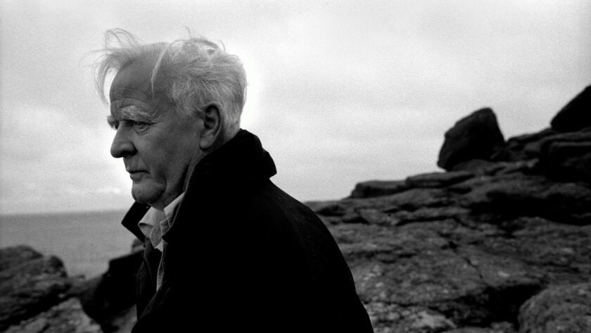 John Le Carré in Cornwall, Britain, in 2003.