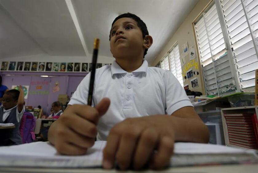 Un 87% de escuelas públicas en P.Rico están abiertas y 247 pendientes