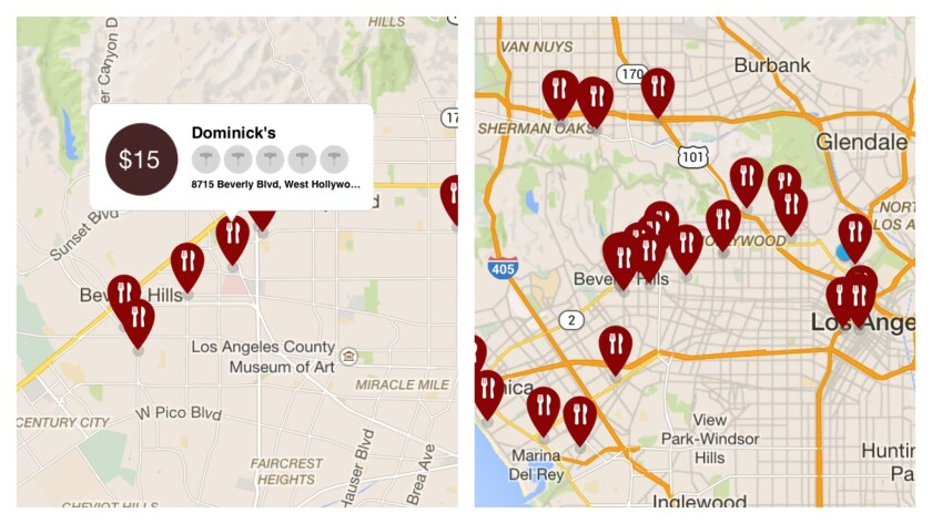 The app Corkagefee maps restaurants and what they charge for corkage