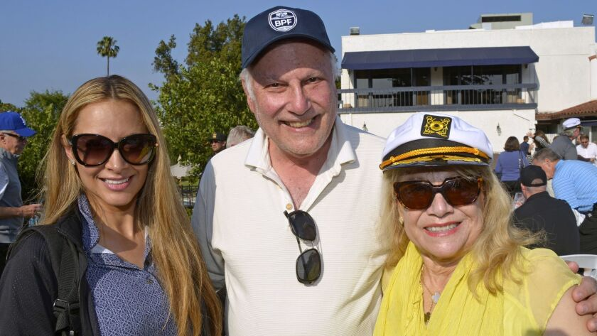 Among those who participated in last week's Mario Lopez Golf Classic were Veronica Ashworth, left, f