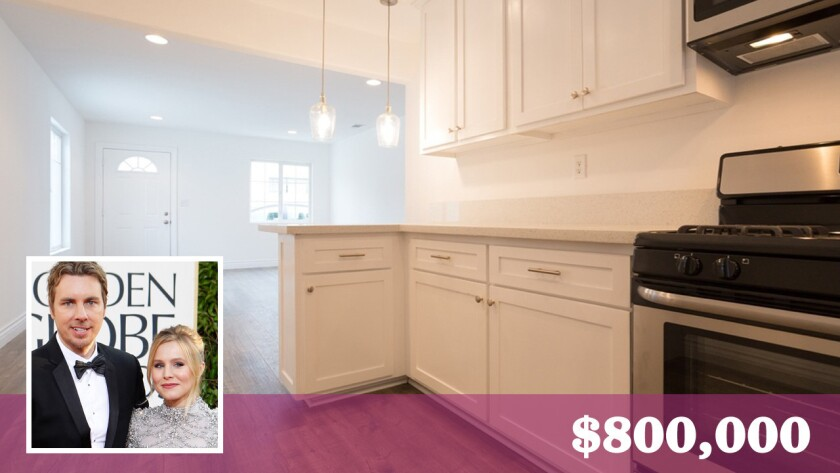 Dax Shepard and Kristen Bell have purchased an investment property in the Mid-City area of Los Angeles for $800,000.