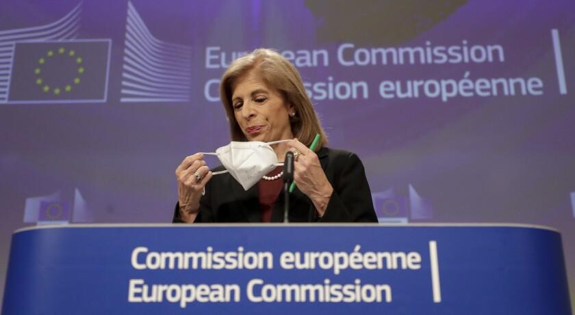 European Commissioner for Health Stella Kyriakides