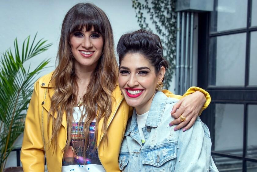 Las cantantes recibieron el apoyo de Lucero, Ana Gabriel y Julio Preciado.