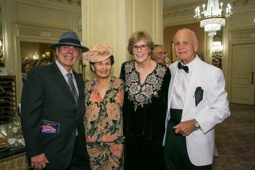Gala co-chairs Peter Gourevitch, Celia Falicov, Pat Finn-Burkhard, Walt Burkhard