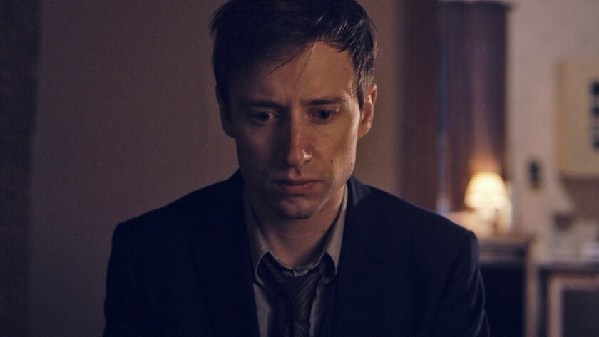 "David Rysdahl in the movie ""The Revival."""