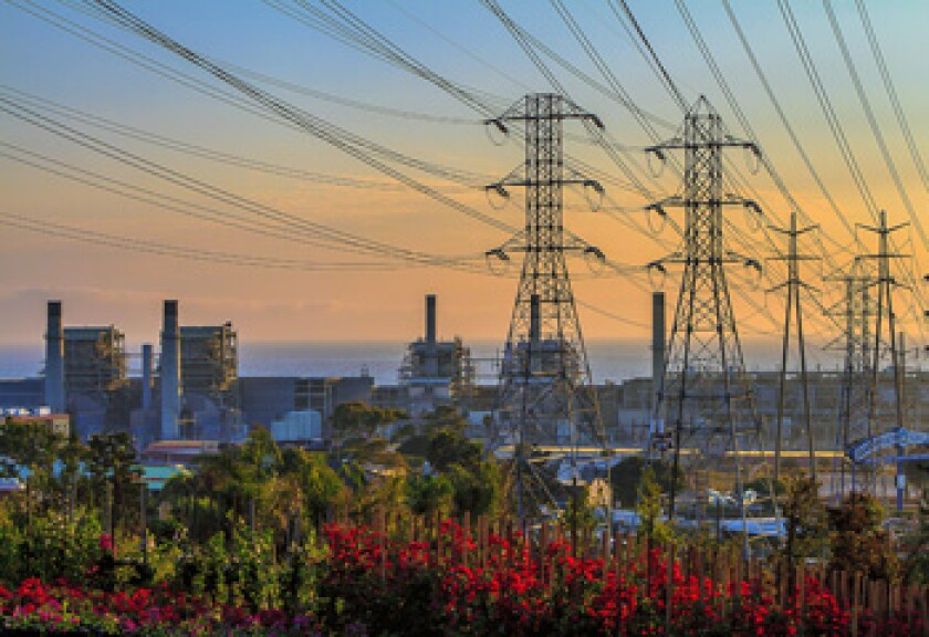 The Redondo Beach Generating Station that uses once-through-cooling, a process that can kill fish and other marine life.