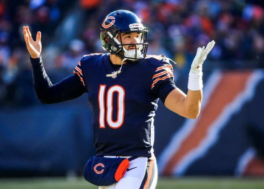 24-17. Los Bears ganan la División guiados por Trubisky