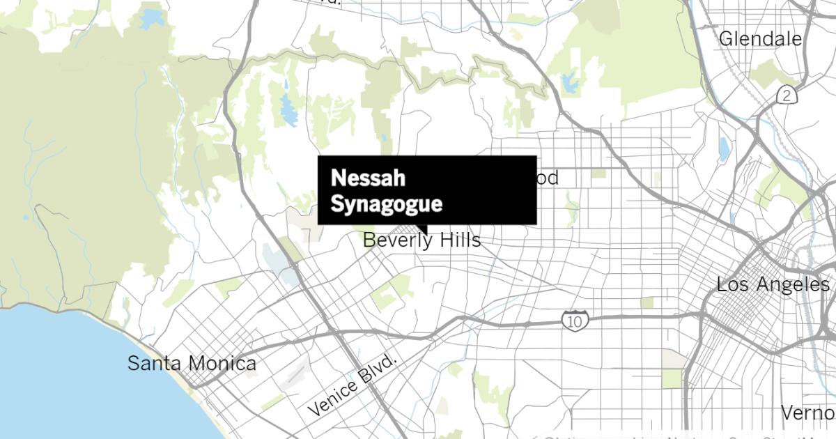 Pennsylvania, pria yang ditangkap di Hawaii sehubungan dengan Beverly Hills synagogue vandalisme