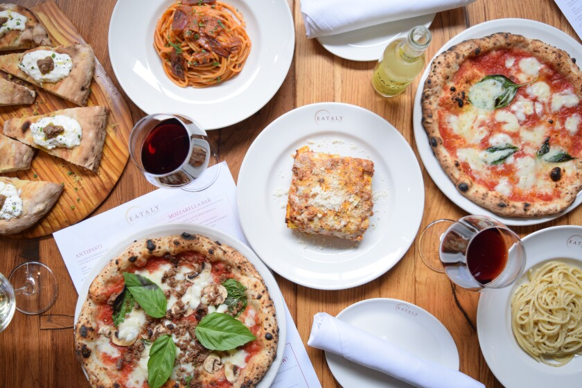 Eataly Las Vegas' La Pizza e La Pasta serves ultra-authentic versions of Italy's two main food groups.
