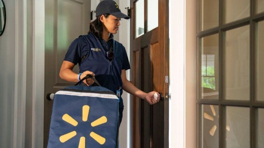 Walmart's InHome grocery delivery service will begin in the fall.