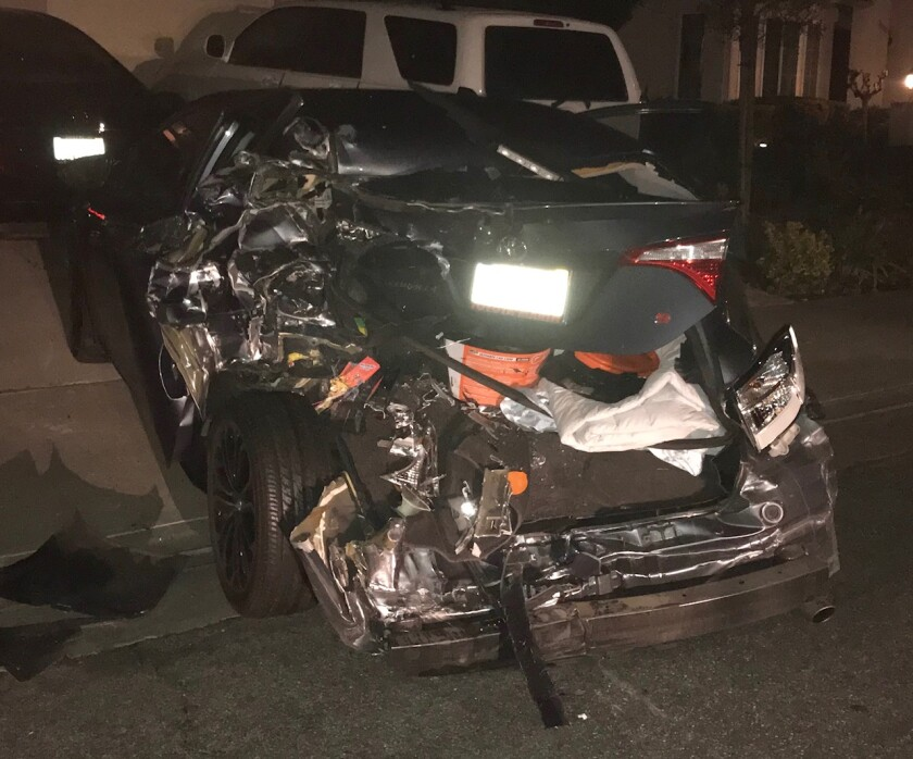 An assistant chief of the Los Angeles Fire Department was allegedly involved in a hit-and-run collision, crashing into a Toyota sedan before fleeing to his home nearby.