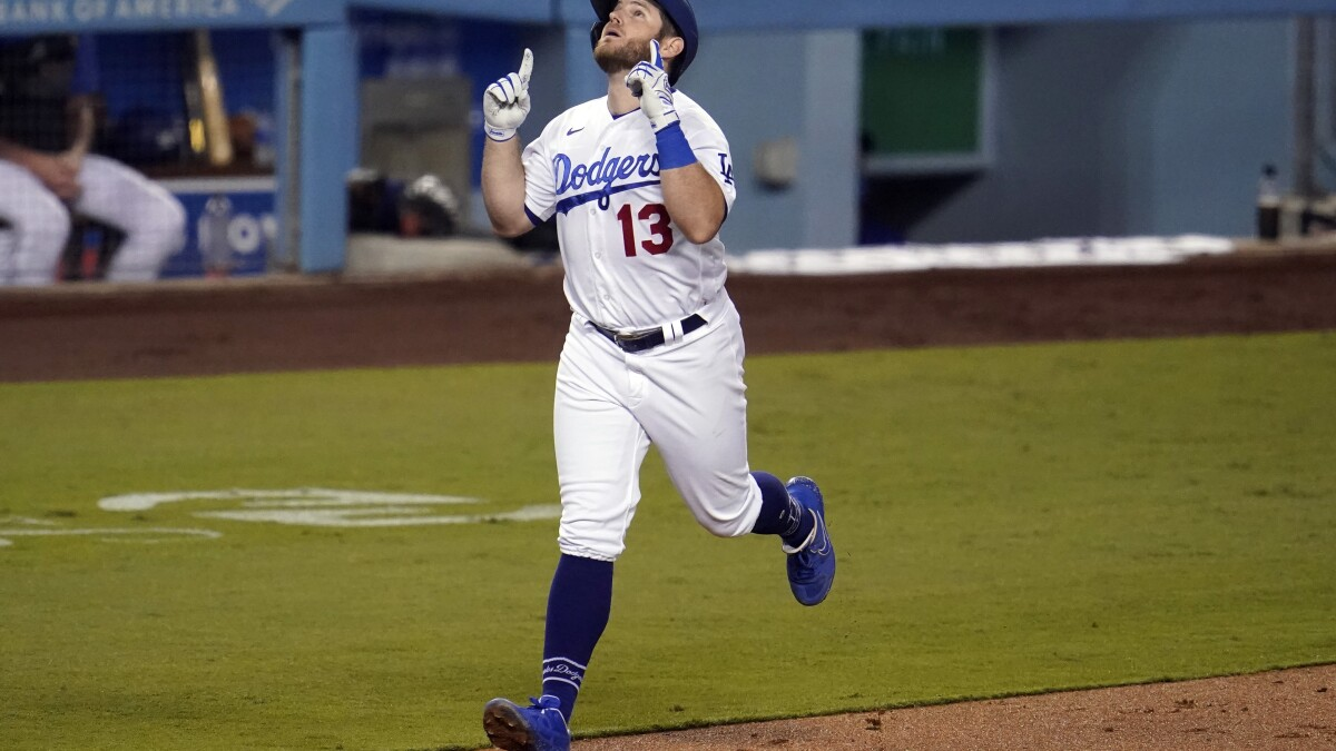 Max Muncy optimistic he could be Dodgers' October surprise - Los Angeles  Times