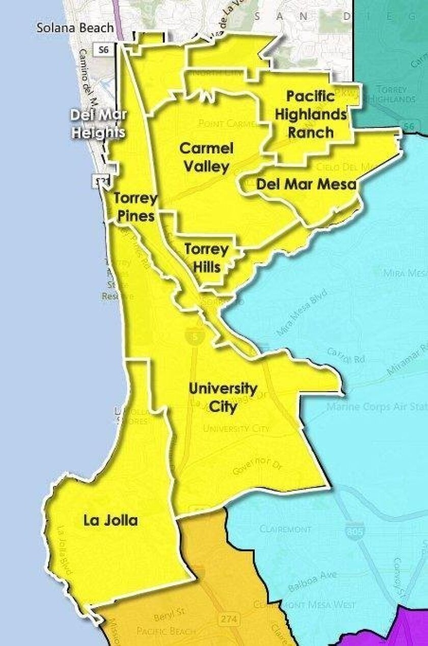 San Diego City Council District 1 is best known for its beautiful beaches and picturesque highlands. Among its many attractions, it is home to the Scripps Institution of Oceanography, UC San Diego, Birch Aquarium, Salk Institute and the Sandford-Burnham Institute. District 1 has become a nationally recognized hub for higher education, scientific research and the biotech and high-tech industries. It covers the northwest part of the City of San Diego and includes all of the following ZIP codes: 92014, 92037, 92038, 92067, 92073, 92093, 92121, 92122, 92130.