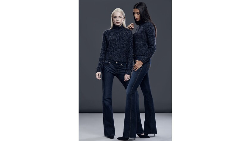 Denim label 7 for All Mankind's Tailorless Denim collection features shorter inseams designed for the average-height woman.