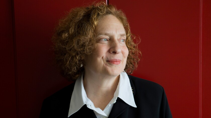 American composer Julia Wolfe photographed in Los Angeles last year.