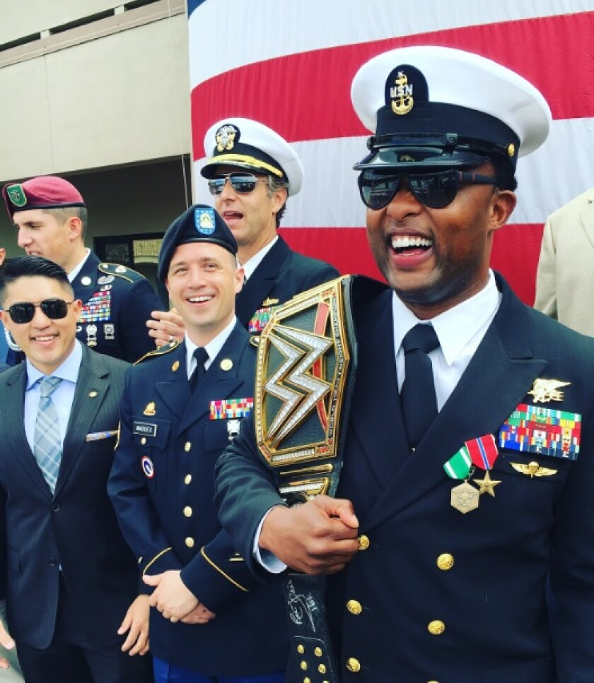 After 20 years of decorated service in the Navy, Ty Smith retired in San Diego in May 2016.