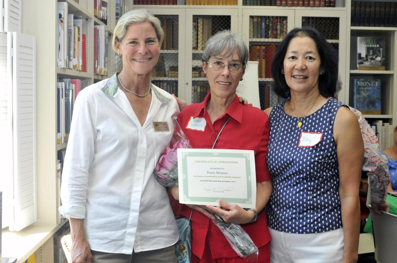 RSF Library Guild hosts Volunteer Appreciation Brunch