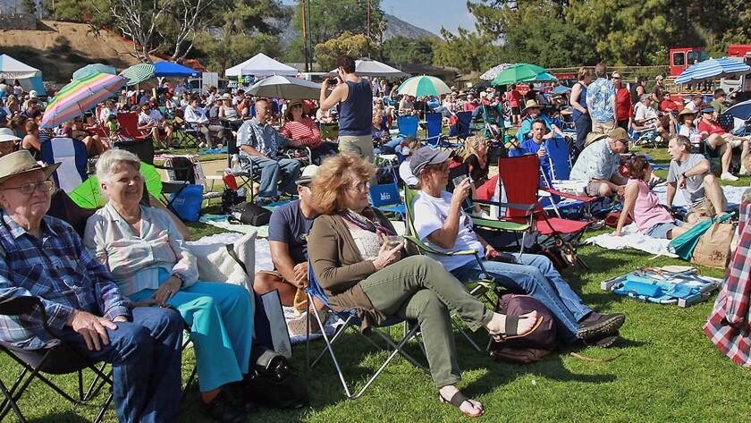 Music in the Park concert series, La Cañada Flintridge