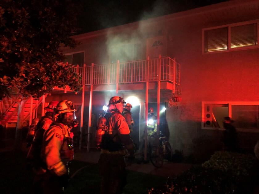 Costa Mesa Fire & Rescue on the 500 block of Joann Street.