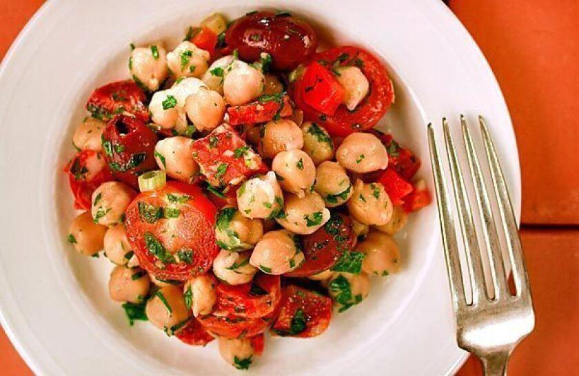Eat Beat video: Chickpea salad with chorizo