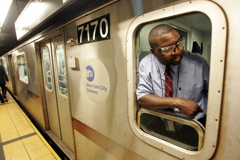 MTA subway conductors were given new rules to save time.