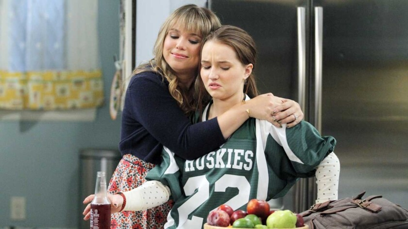"Amanda Fuller, left, and Kaitlyn Dever in ""Last Man Standing"" on ABC."