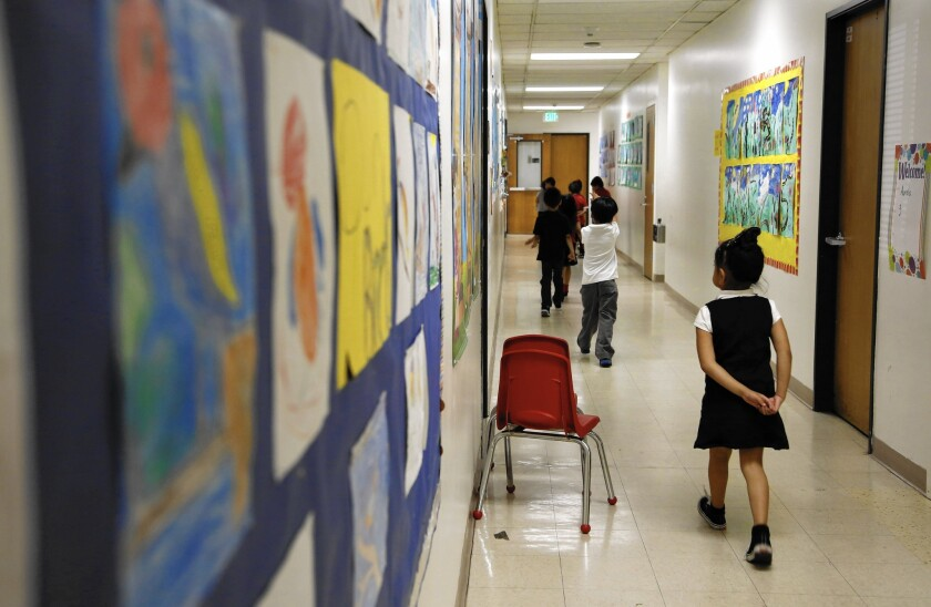 A plan led by the Broad Foundation would add 260 charter schools to L.A., which already has more charters, including Metro Charter Elementary downtown, than any other district in the country.