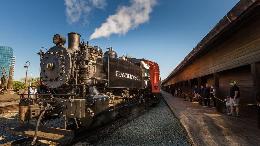Take a train-themed road trip through California and Nevada - Los